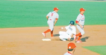 Jugada en segunda base