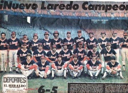 Tecolotes de 1977 (Campeones)